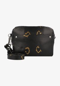 Cowboysbag - BOBBIE - Across body bag - snake black/gold - 0