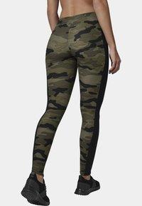 Urban Classics - Leggings - Trousers - woodcamo/blk - 1