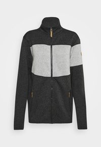 Icepeak - ALBERTON - Fleece jacket - black melange