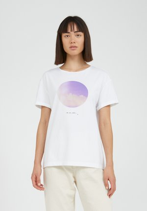 NAALIN - Print T-shirt - white