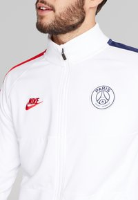 Nike Performance - PARIS ST GERMAIN - Veste de survêtement - white/university red - 4