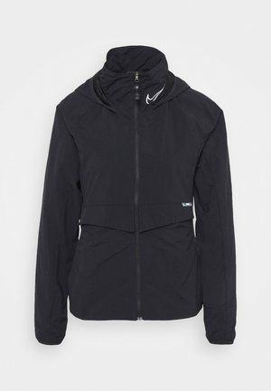 Training jacket - black/smoke grey/reflective silver