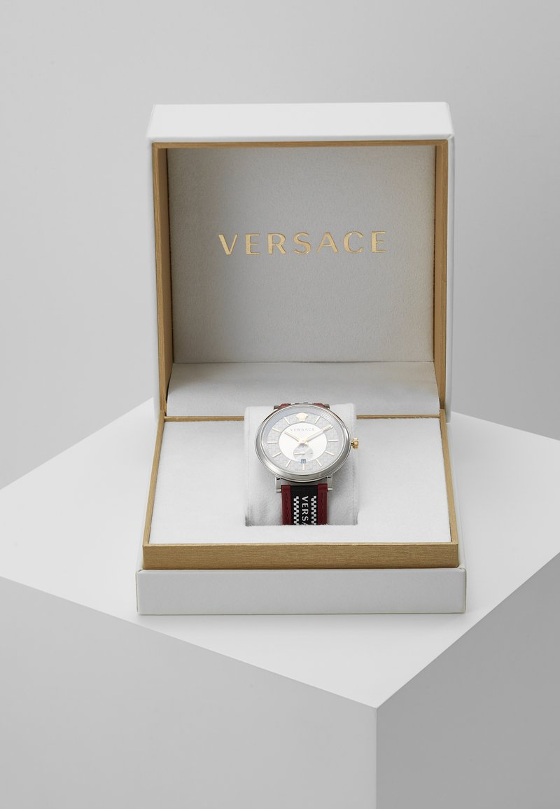Versace Watches - CIRCLE GRECA EDITION - Zegarek - red