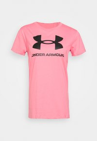 Under Armour - LIVE SPORTSTYLE GRAPHIC - T-shirt imprimé - pink lemonade - 3