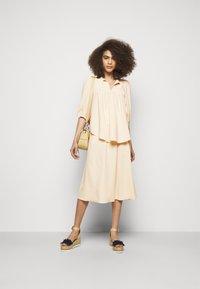 See by Chloé - A-line skirt - macadamia brown - 1