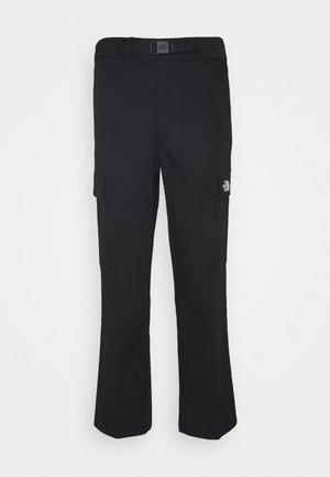 OORITE CARGO PANT  - Spodnie materiałowe - black