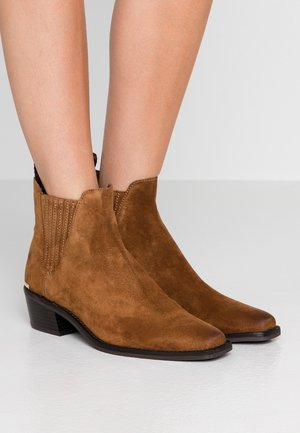 MICHELLE BOOTIE  - Classic ankle boots - latte