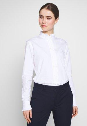 SHIRT - Skjortebluser - white