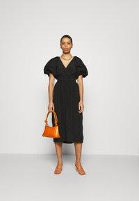 CMEO COLLECTIVE - DISPERSE DRESS - Denní šaty - black - 1