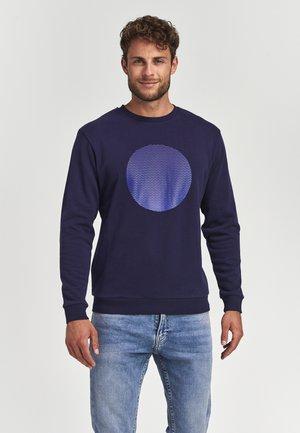 GRADIENT DOT  - Sweatshirt - dark navy