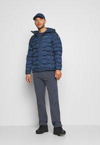 Peak Performance - ARGON HOOD - Winter jacket - blue shadow - 1