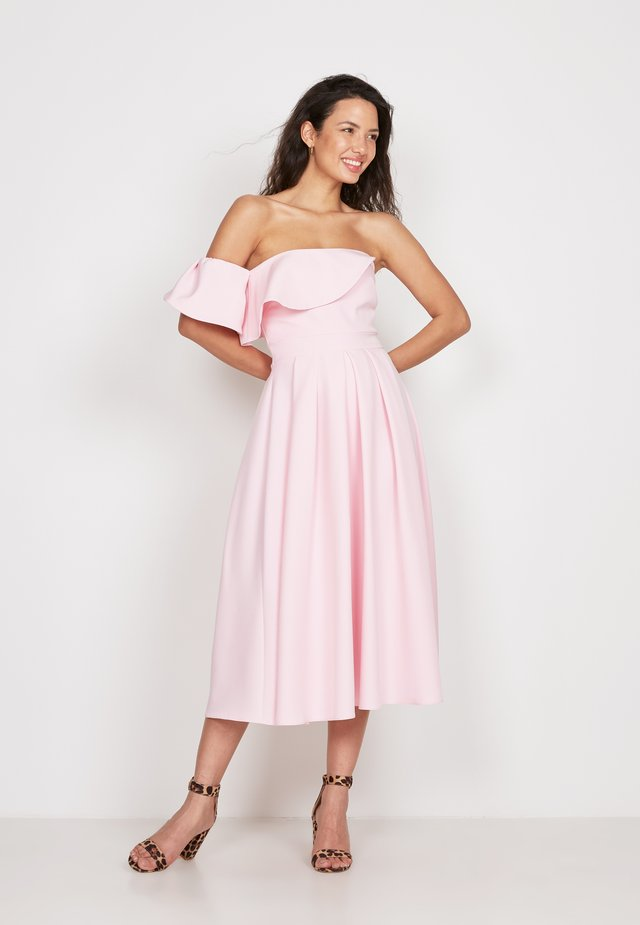 FRILL FIT  - Day dress - pink