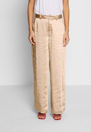 SALLC TROUSERS - Pantalones - cement