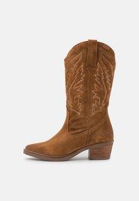 TEO - Stivali texani / biker - brown