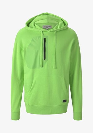 STRICK & SWEATSHIRTS OVERSIZED KAPUZENSWEATER - Hoodie - neon lime green