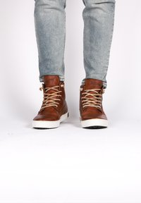 Blackstone - Höga sneakers - old yellow - 1