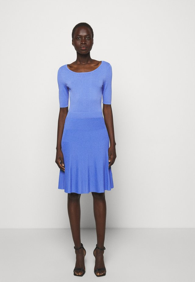 SHANEQUA - Pletené šaty - turquoise/aqua