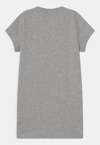 adidas Performance - DRESS - Jersey dress - grey/pink - 1