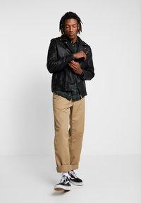 Only & Sons - ONSROVER BIKER - Faux leather jacket - black - 1