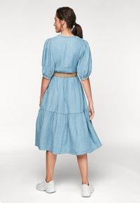 s.Oliver - Maxi dress - blue lagoon denim - 2