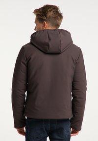 Mo - Winter jacket - espresso - 2