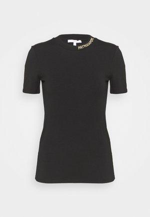 MAGLIA - Jednoduché triko - nero