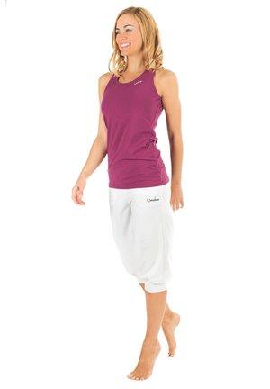 3/4 sports trousers - weiß