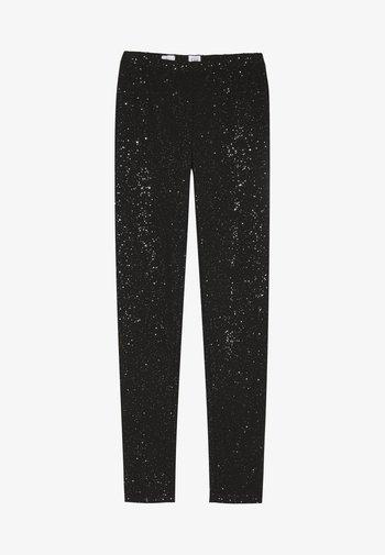 Leggings - Trousers - true black