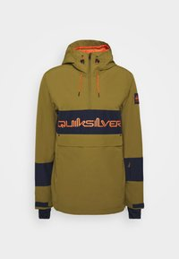 Quiksilver - STEEZE - Snowboard jacket - military olive - 5