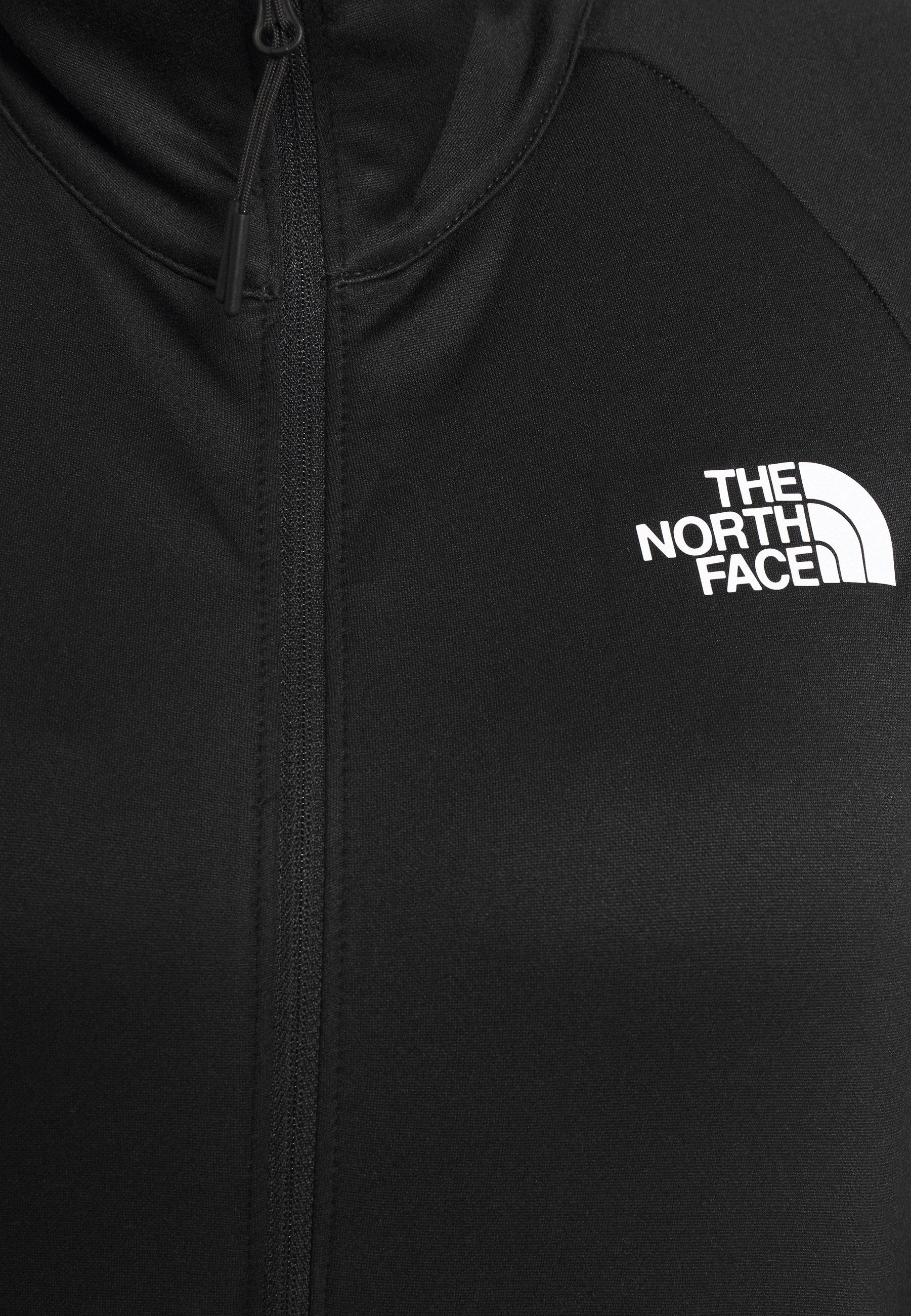 The North Face FULL ZIP JACKET - Fleece jacket - black UqvE9