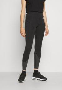 Nike Sportswear - Leggings - black/smoke grey - 0