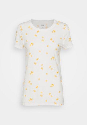 FAV CREW - T-shirts med print - offwhite