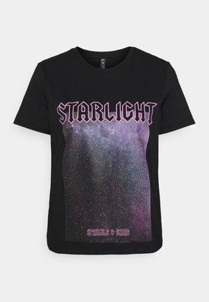 PCDREA TEE  - T-shirts med print - black/starlight