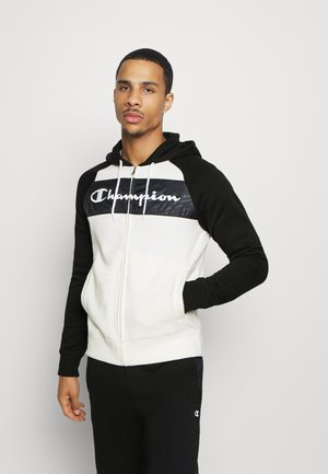 LEGACY HOODED FULL ZIP SUIT SET - Träningsset - offwhite/black