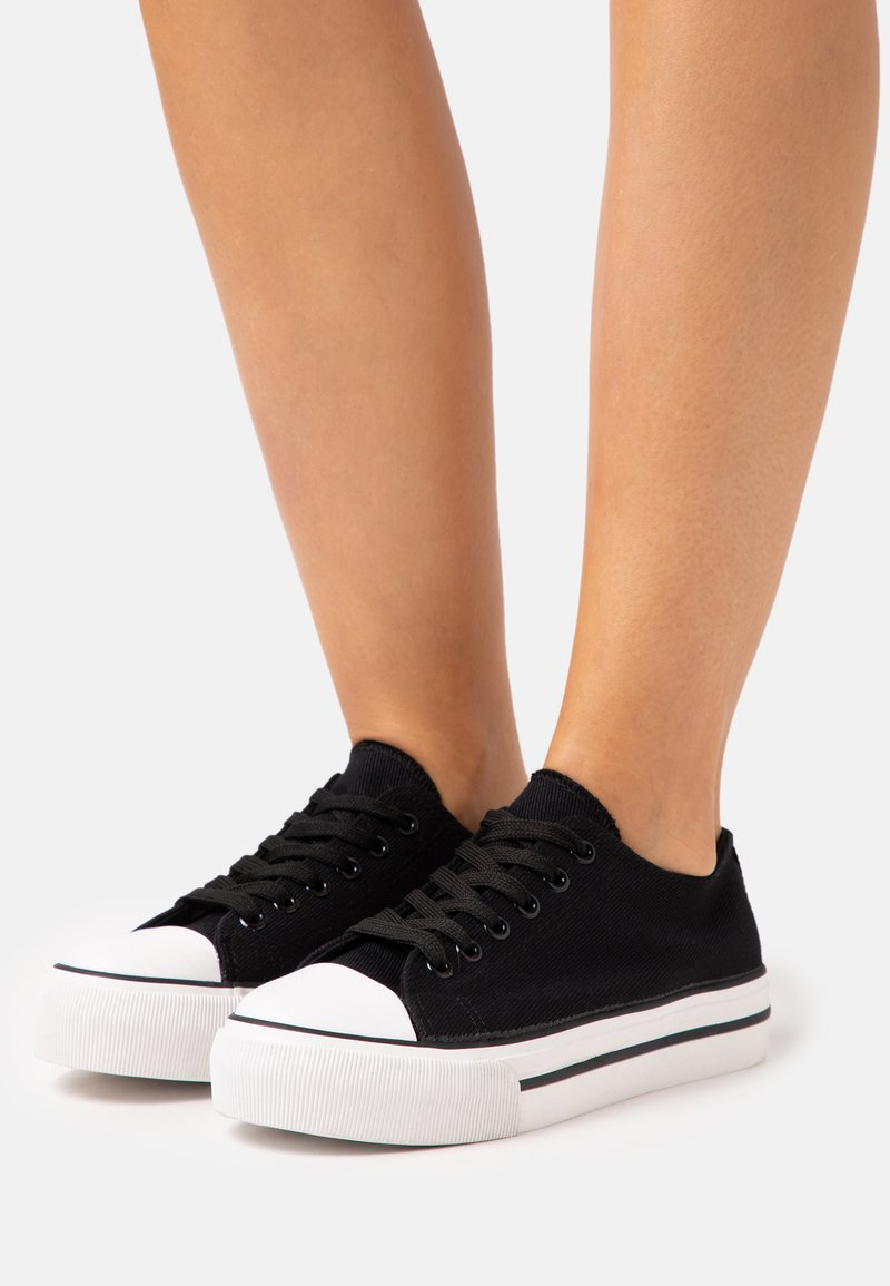 Miss Selfridge - IVANA FLAT  - Sneakers laag - black