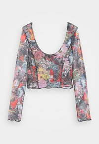 NEW girl ORDER - FLORAL FISH TOP - Long sleeved top - multi-coloured - 0