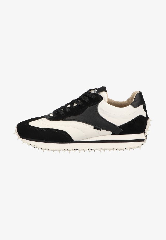 Sneakers laag - black/off white