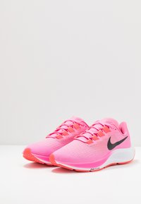 Nike Performance - AIR ZOOM PEGASUS 37 - Neutral running shoes - pink glow/black/platinum violet/white - 2