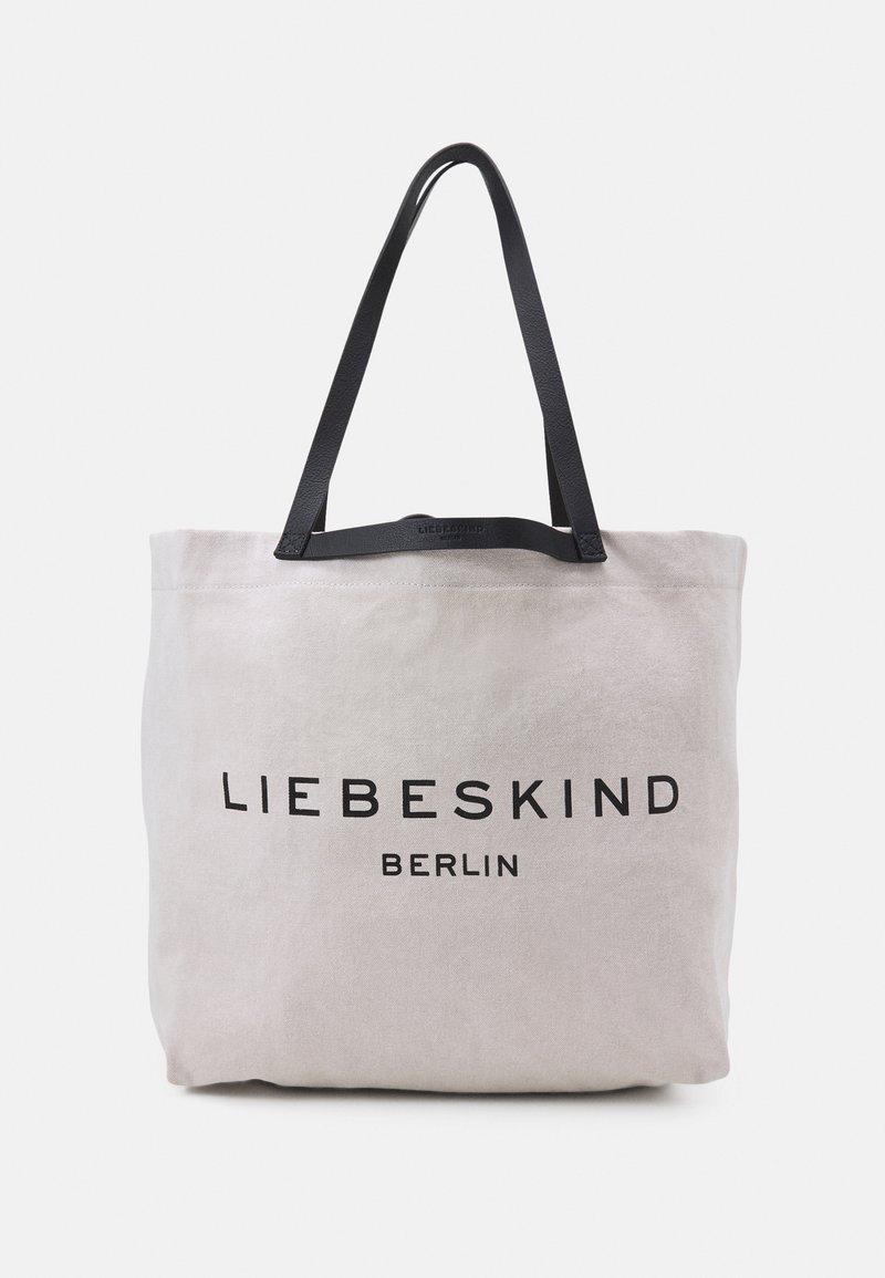 Liebeskind Berlin - SHOPPER LARGE - Tote bag - pale moon