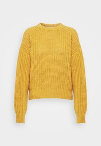 NU-IN - CHUNKY SWEATER - Maglione - light rust - 4