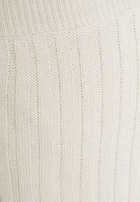 Missguided Petite - ASYMMETRIC MIDAXI SKIRT - Maxi skirt - stone - 2