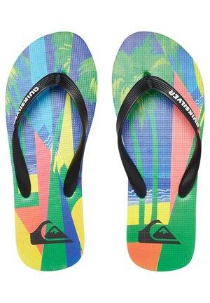 MOLOKAI VACANCY - Pool shoes - black/blue/green
