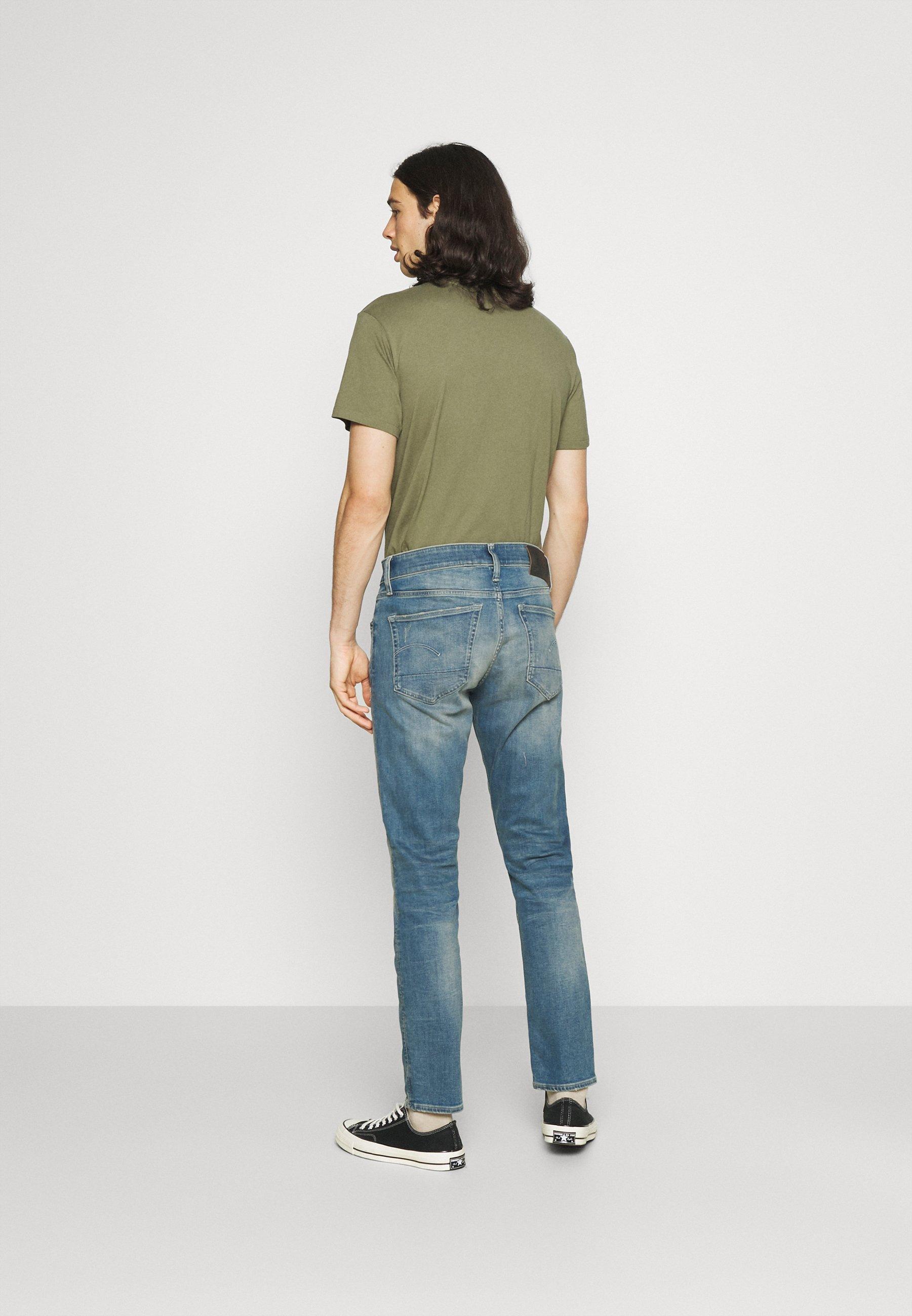 Men 3301 SLIM - Slim fit jeans - elto superstretch monaco blue