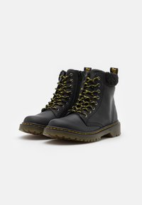 Dr. Martens - 1460 COLLAR REPUBLIC WP UNISEX - Veterboots - black - 1