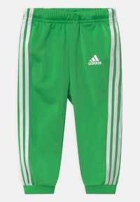 adidas Performance - SHINY SET UNISEX - Tuta - green, black - 2