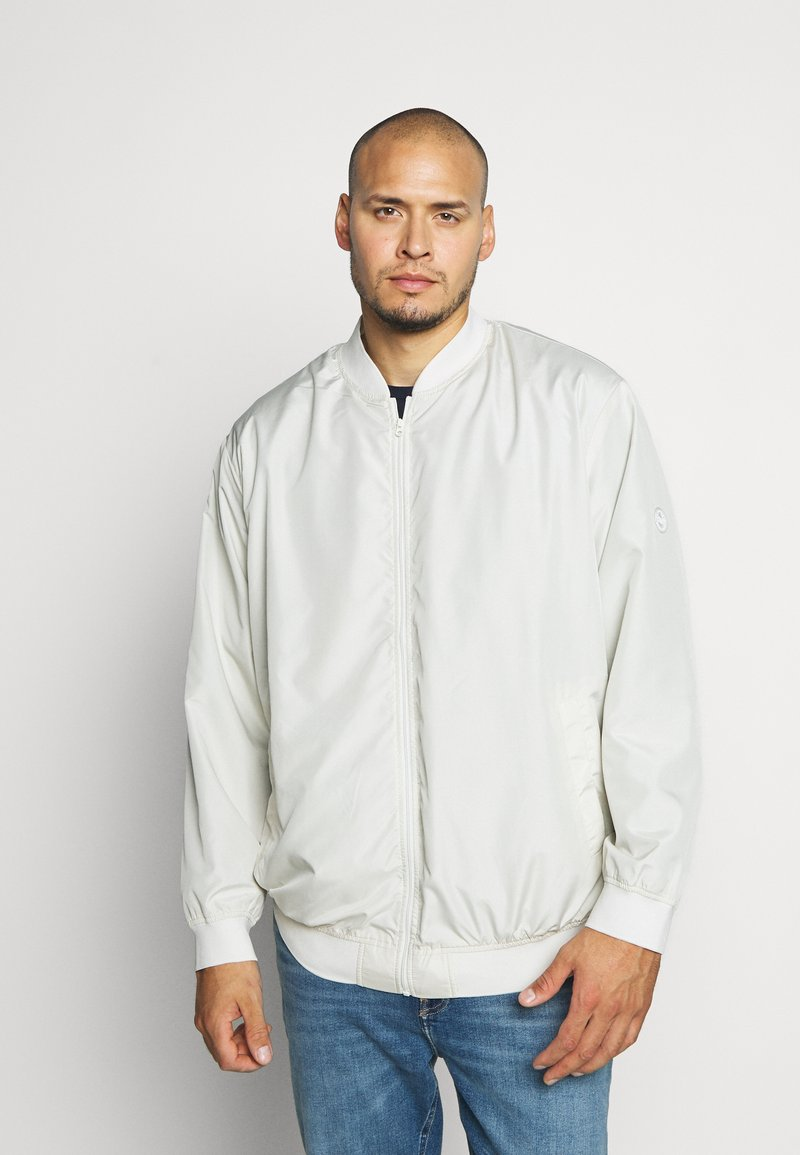 Jack & Jones - JORVEGAS JACKET - Bomber Jacket - silver birch