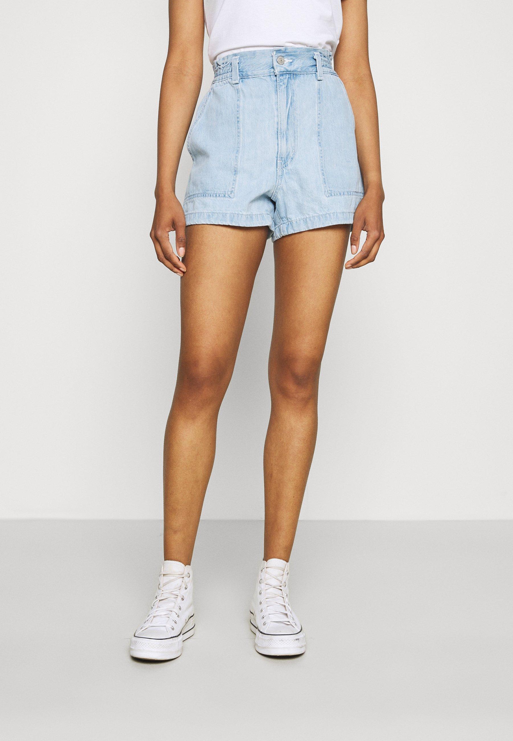 Damen HIGH WAIST A LINE - Jeans Shorts