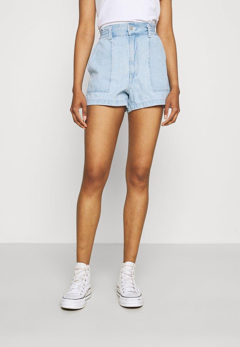 Levi's® - HIGH WAIST A LINE - Denim shorts - throw some shade