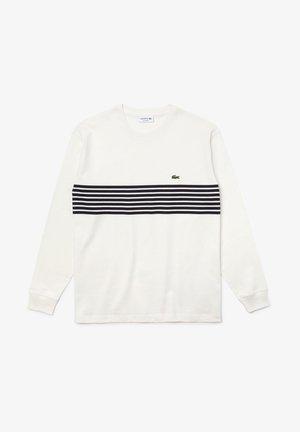 HOMME - T-shirt à manches longues - blanc