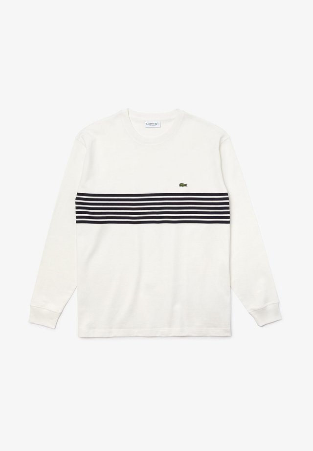 HOMME - Long sleeved top - blanc